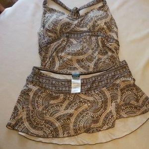 Motherhood Maternity 2 piece bathing suit